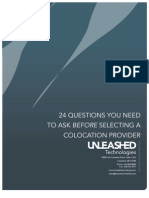 24 Questions for Colocation