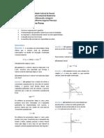 Prova 3 de Cálculo I - Engenharia Industrial Madeireira UFPR