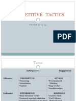 Tactics & Strategic Alliance