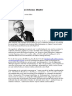 Karl Barth and the Reformed Identity