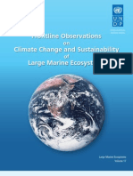 Frontline Observations on Climate Change and Sustainability of Large Marine Ecosystems