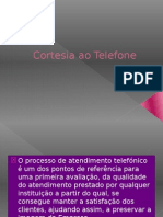 Cortesia+Ao+Telefone+Power+Point