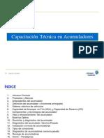 Capacitacion Acumuladores LTH