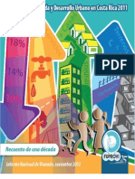 18_Situación de Vivienda y Desarrollo Urbano en Costa Rica en el 2011