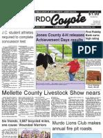 Murdo Coyote, August 1, 2013