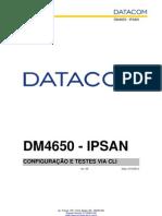 Configurando Testes via CLI DM4650.pdf