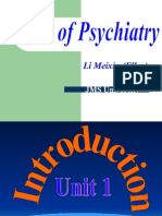 Psychiatry Introduction
