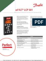 Danfoss Vlt Lcp501