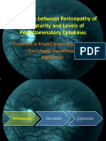 Correlation Between Retinopathy of Prematurity and Levels Of