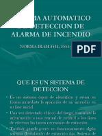 Sistema Automatico de Deteccion de Alarma de Incendio