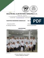 Boletín Rotario del 18 de junio de 2013