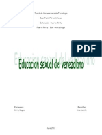 Educacion Sexual Del Venezolano