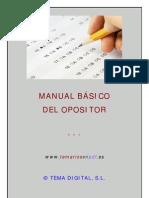 Manual Opositor