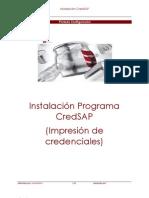 Instalación Programa CredSAP