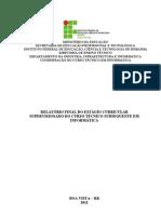 Relatório  Final - Técnico em Informática