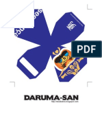 Daruma San Azul