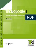 Tecnología administrativa I