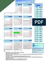 Calendar Scolar 2013