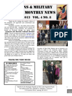 Veterans & Military Families Monthly News-August 2013