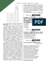 1ª P.D - 2013 (Port. 3ª série EM)
