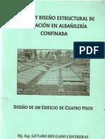 ANALISIS Y DISEÑO ESTRUCTURAL DE EDIFICACION DE ALBAÑILERIA CONFINADA