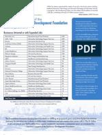 SAEDF Impact Report 2012