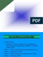 8085 Microprocessor by Ramesh S Gaonkar