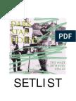 Dark Star Horses Set List July 2013