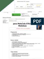 Motorola Motoluxe XT615 - Xda-Developers