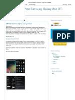 Root y ROM´S Para Samsung Galaxy Ace GT-S5830