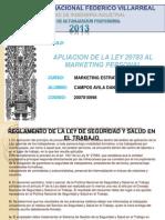 Apliacion Ley 29783