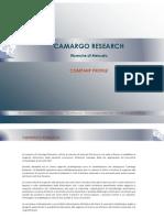 Camargo Research Sito