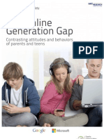 The Online Generation Gap