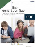 The Online Generation Gap