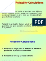 The Basic Reliability Calculations
