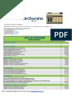 Lista Venehardware 20-05-2013