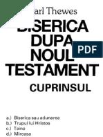 Biserica Dupa Noul Testament