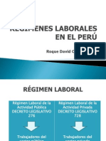 Regimenes Laborales Del Estado