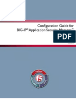 Configuration Guide for BIG-IP Application Security Manager