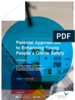 Parental Approaches to Enhancing Young People's Online Safety