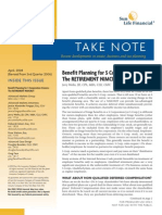 Benefit Planning for S Corp Owners-The Retirement NIMCRUT