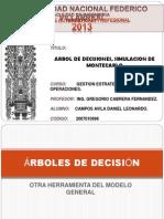 Arbol de Decisiones, Simulacion Montecarlo