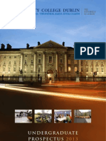 TCD Prospectus 2013