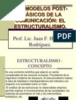 Modelos post – clásicos de la comunicación- El Estructuralismo