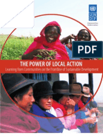 The Power of Local Action - Learning From Communities on the Frontlines of Sustainable Development
