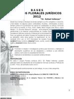 bases II JUEGOS FLORALES JURÍDICOS 2011