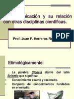 La Comunicación y su relación con otras disciplinas científicas