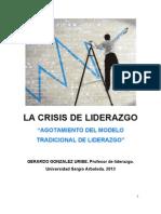 LA CRISIS DEL LIDERAZGO TRADICIONAL.pdf