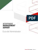 BitDefender ManagementServer AdminGuide Es