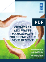 Chemicals and Waste for Sustainable Development - UNDP work on Persistent Organic Pollutants